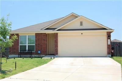 Lockhart Single Family Home For Sale: 1516 Wedgewood Cove