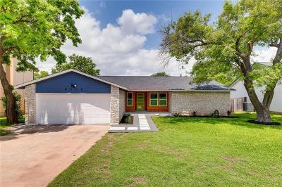 Austin Single Family Home For Sale: 8308 Bridgetown Dr