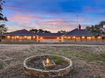 Burnet County Single Family Home For Sale: 3547 W Hwy 29