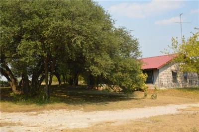 Lampasas Single Family Home For Sale: 3301 County Road 101