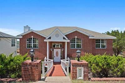 Lago Vista Single Family Home For Sale: 4804 Country Club Dr