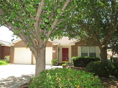 Cedar Park TX Single Family Home For Sale: $270,000