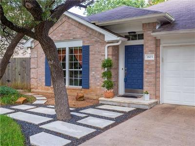 Cedar Park Single Family Home Coming Soon: 1803 Edelweiss Dr