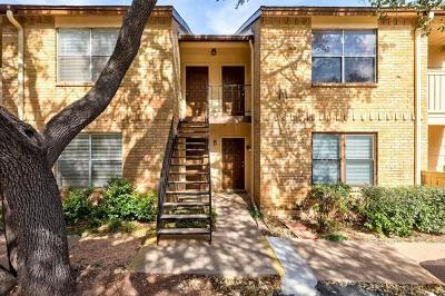 Travis County Condo/Townhouse For Sale: 8210 Bent Tree Rd #255