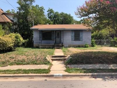 Austin Single Family Home For Sale: 1707 Cedar Ave