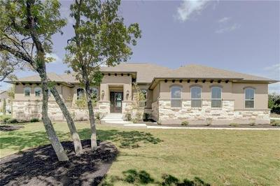 Leander Single Family Home For Sale: 3813 Deep Pocket Dr