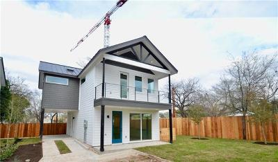 Austin Single Family Home For Sale: 1615 S 2nd St #6