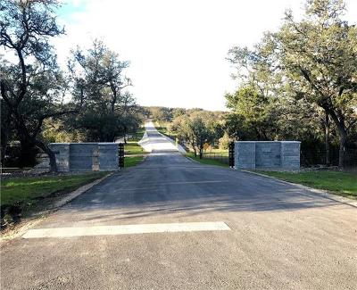Driftwood Residential Lots & Land For Sale: Pavo Springs Trl