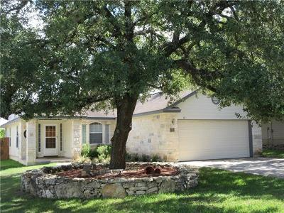 Wimberley TX Single Family Home For Sale: $250,000