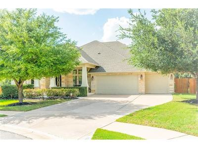 Round Rock Single Family Home For Sale: 3808 Iris Cv