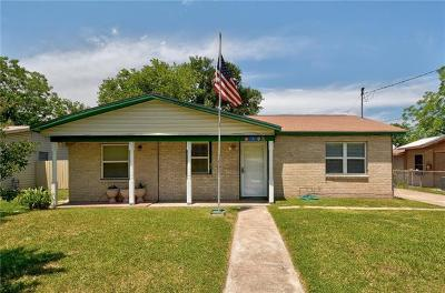 Hays County, Travis County, Williamson County Single Family Home For Sale: 6112 Club Ter