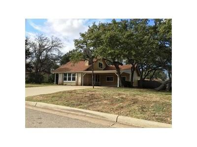 Leander Single Family Home For Sale: 401 Apache Trl