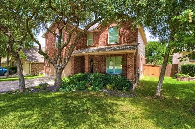 Round Rock TX Single Family Home For Sale: $379,900