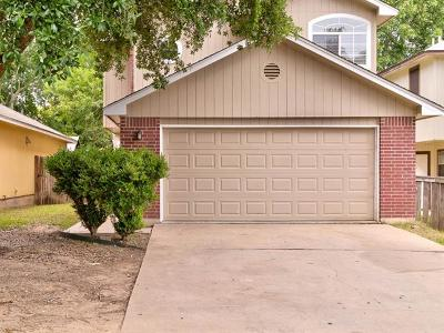 Round Rock Single Family Home For Sale: 2118 Jasmine Path