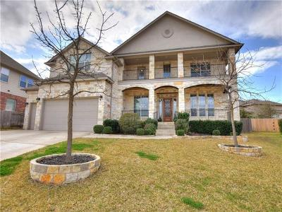 Cedar Park Single Family Home For Sale: 1003 Rhondstat Run