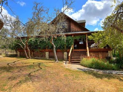 Wimberley Single Family Home For Sale: 3607 Lone Man Mountain Rd