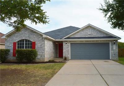 Leander Single Family Home For Sale: 612 Fall Creek Dr