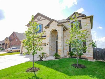 Pflugerville Single Family Home For Sale: 17309 Silent Harbor Loop