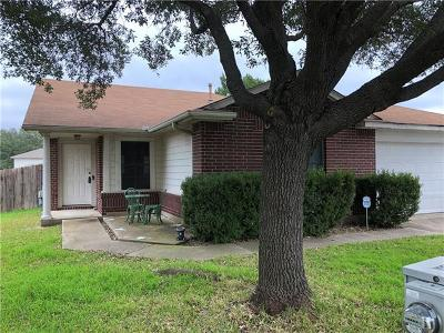 Leander Single Family Home For Sale: 16234 Copper Leaf Ln