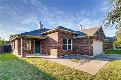 Hutto Single Family Home Pending - Taking Backups: 121 Hanstrom Dr