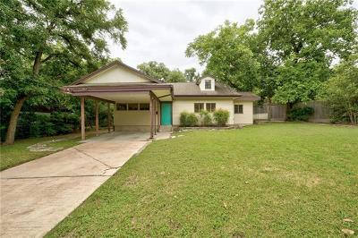 Austin Single Family Home For Sale: 2117 W 12th St