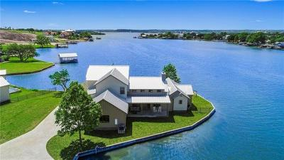 Granite Shoals TX Single Family Home For Sale: $2,200,000