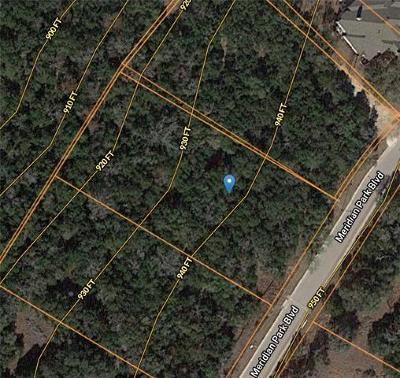 Hays County Residential Lots & Land For Sale: 12900 Meridian Park Blvd