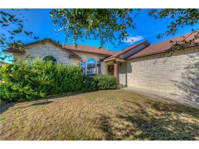 Hutto Single Family Home Pending - Taking Backups: 215 Lakemont Dr