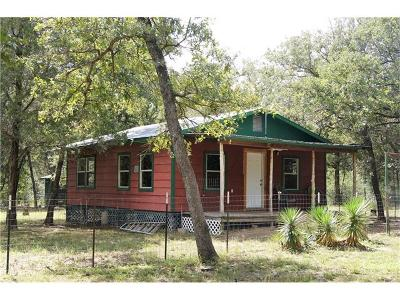 Bastrop Single Family Home Pending - Taking Backups: 626 Oak Hill Cemetery Rd