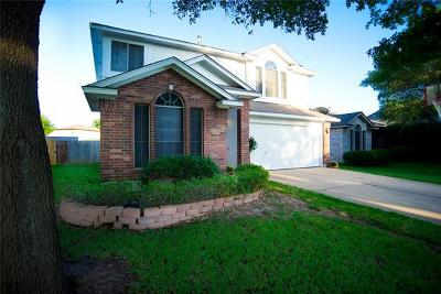 Round Rock Single Family Home For Sale: 1425 Thibodeaux Dr