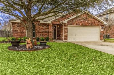 Hutto Single Family Home Pending - Taking Backups: 120 Castle Dr