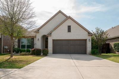 Cedar Park Single Family Home For Sale: 1923 Nelson Ranch Loop