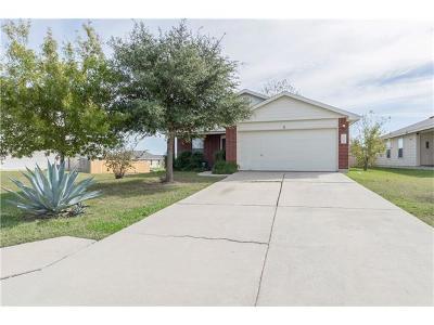 Kyle Single Family Home For Sale: 164 Mood Lake Dr