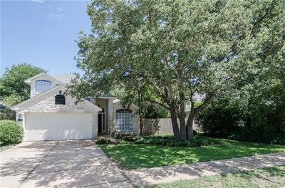 Cedar Park Single Family Home For Sale: 2204 Macaw Dr
