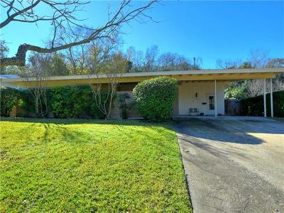 Austin Single Family Home For Sale: 3509 Lakeland Dr