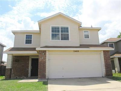 Killeen Single Family Home For Sale: 2403 Waterfall Dr