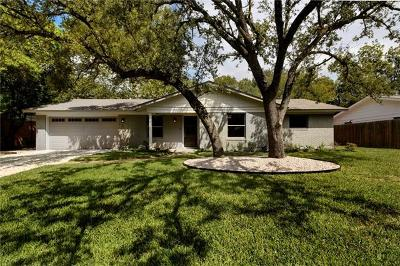 Austin Single Family Home Pending - Taking Backups: 3006 Stardust Dr