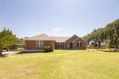 Wimberley Single Family Home For Sale: 207 Round Rock Rd