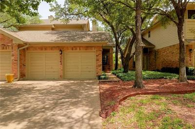Austin Condo/Townhouse For Sale: 8505 Cima Oak Ln #A-30