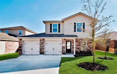 Manor Single Family Home For Sale: 13724 Charles W. Fairbanks Cv