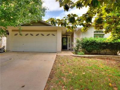 Leander Single Family Home Pending - Taking Backups: 2713 Turtle River Dr