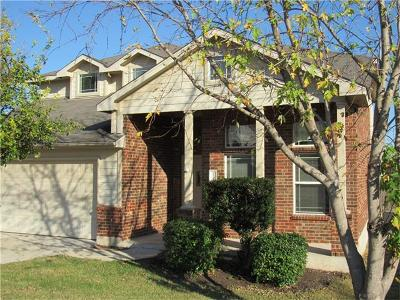 Round Rock Single Family Home For Sale: 1321 Four Cabin Ct