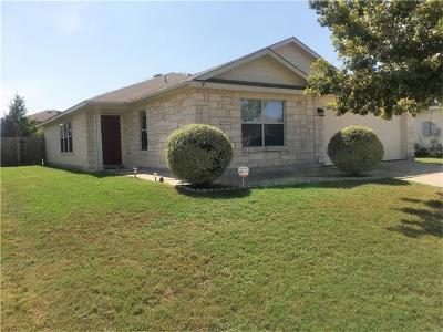 Hutto Single Family Home For Sale: 329 Almquist St