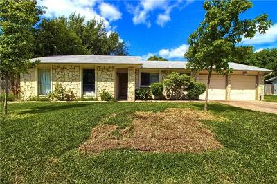 Travis County, Williamson County Single Family Home Pending - Taking Backups: 13300 Wisterwood St