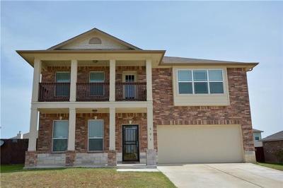 Killeen Single Family Home For Sale: 505 W Vega Ln