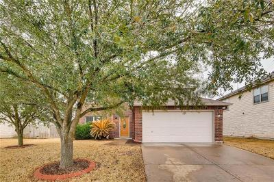 Pflugerville Single Family Home For Sale: 1105 Fox Sparrow Cv