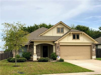 Hutto Single Family Home For Sale: 648 Wiltshire Dr