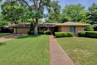 Austin Single Family Home Pending - Taking Backups: 5715 Highland Hills Dr