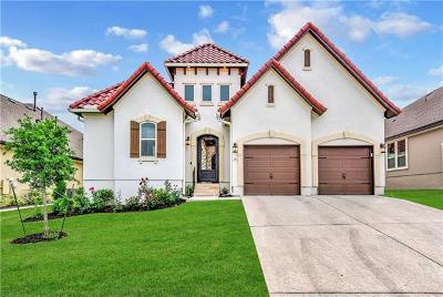 Leander Single Family Home For Sale: 2412 Milan Meadows Dr