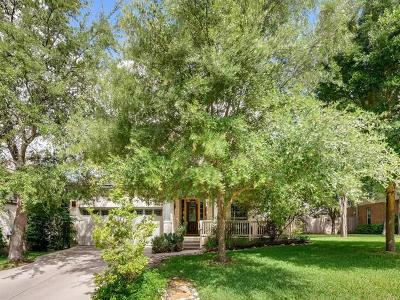 Travis County Single Family Home Pending - Taking Backups: 7308 Black Mountain Dr